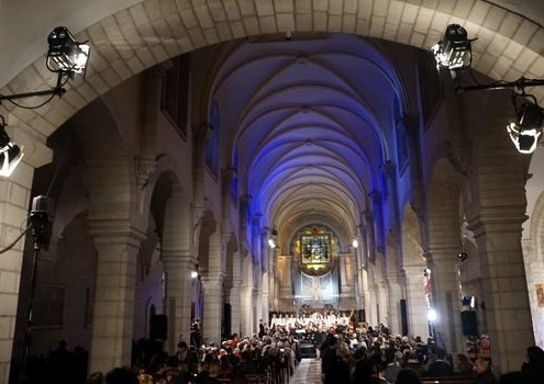 ZDF Weihnachten in Bethlehem Catherine-Church Bethlehem/Westbanks Palästine