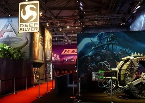 Lichtdesign für Deep Silver auf der Games Com