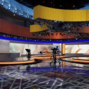 Lichtdesign für Yunnan Media Group News Studio, Kunming/China