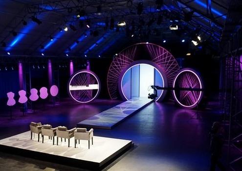 Lichtdesign für Curvy Supermodel RTL 2