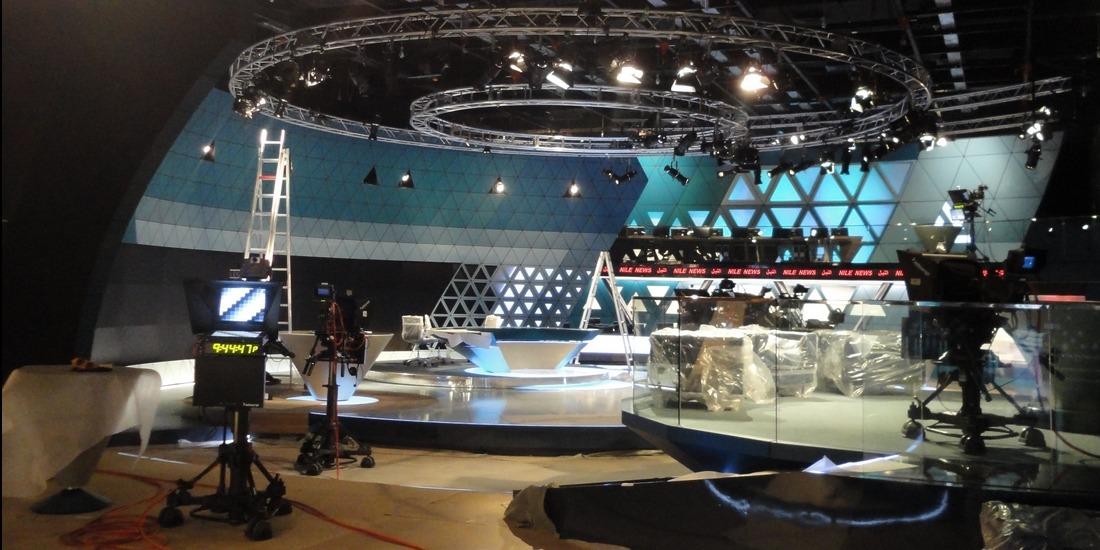 ERTU TV Studio 5 Nile News, Cairo-Egypt