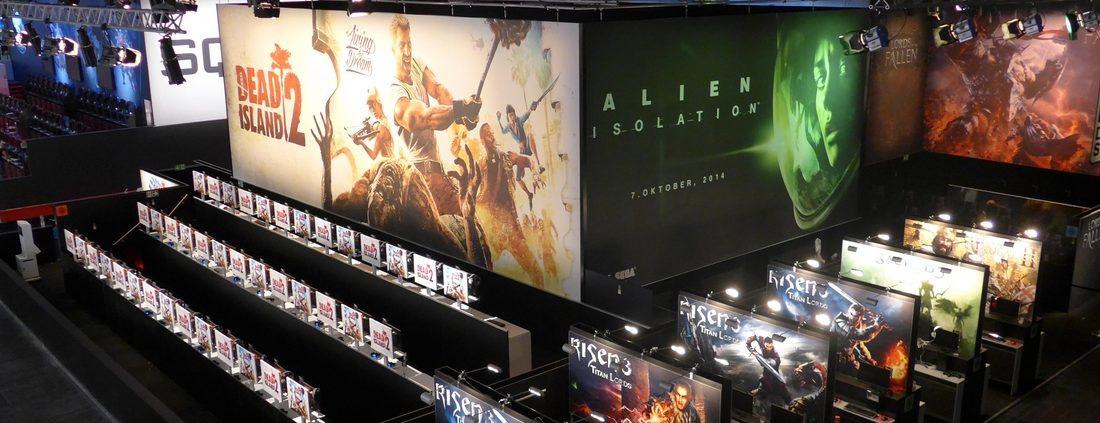 Lichtdesign für Deep Silver, Games Com Köln