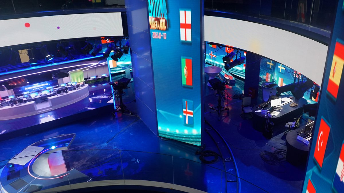 Lichtdesign für Livelihood News Channel, Zhengzhou - Henan/China