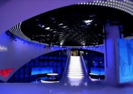 Lichtdesign für Imagen Group News Studio, Mexico City/Mexico