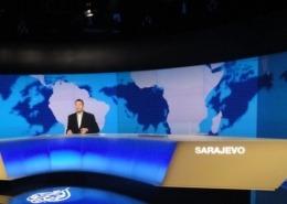 Lichtdesign für Al Jazeera Balcans, Sarajevo