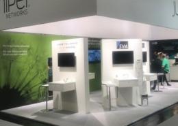 Lichtdesign und technische Umsetzung für Juniper Networks auf der IT-SA in Nürnberg