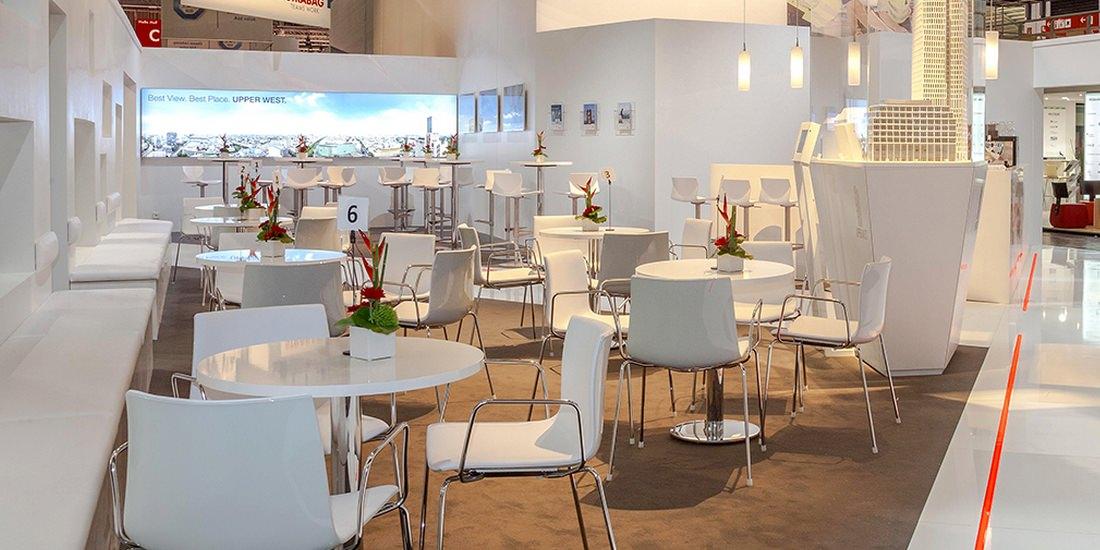 Strabag auf der Expo Real. Lichtdesign: Ralf Wapler