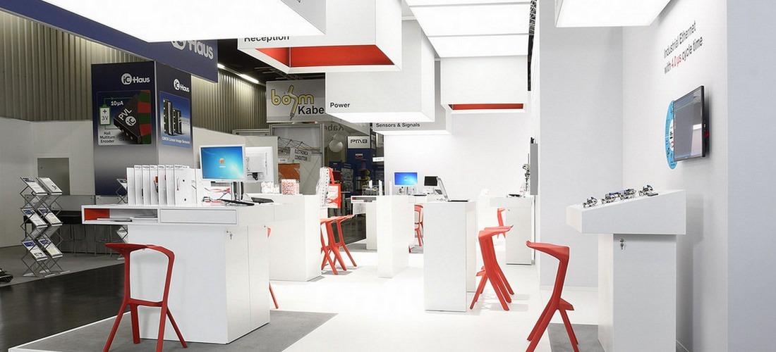 Texas Instruments auf der SPS Nürnberg, Lichtdesign Ralf Wapler
