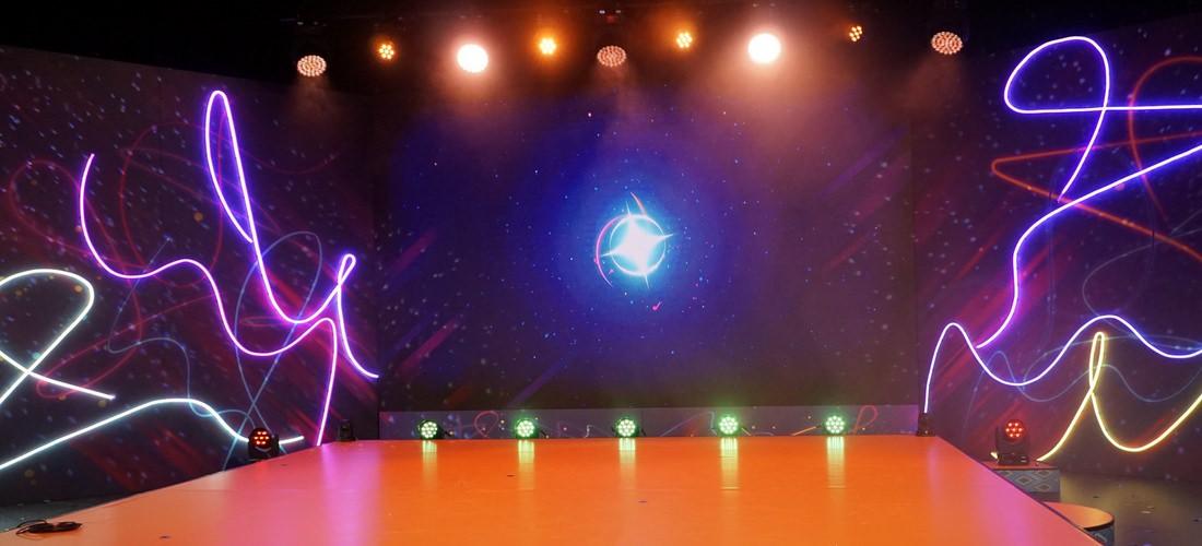 Ralf Wapler - backstage creative lightdesign GmbH Lichtdesign für die Sendung Tanzalarm Club, Kika, Erfurt