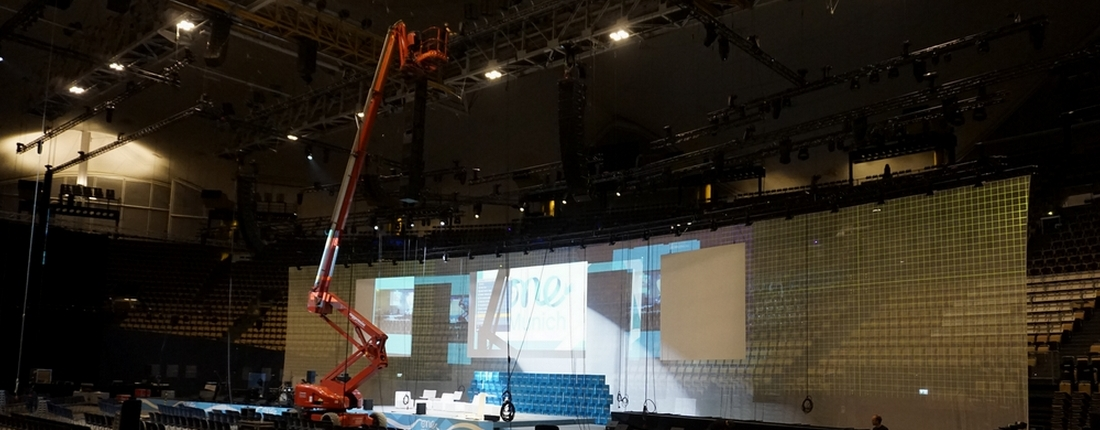 One Young World Summit 2021, Olympiahalle München