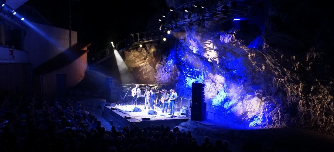Ralf Wapler: Lichtdesign und Operating für das Livekonzert der Band Lechufer